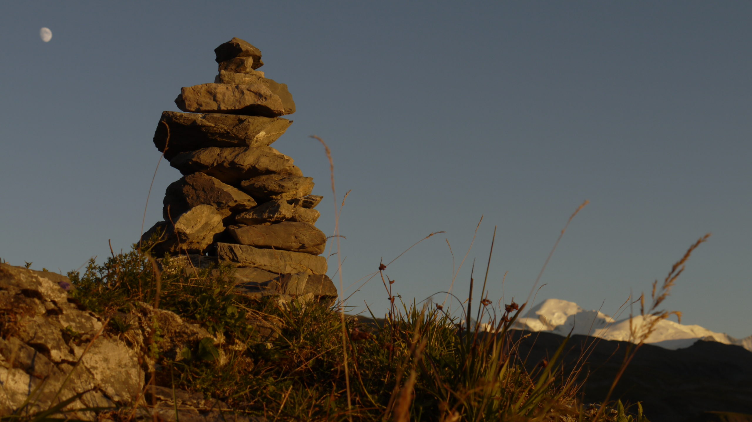 Coucher de soleil au Refuge du Grenairon