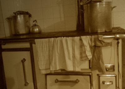 Cuisinière à bois du Refuge du Grenairon